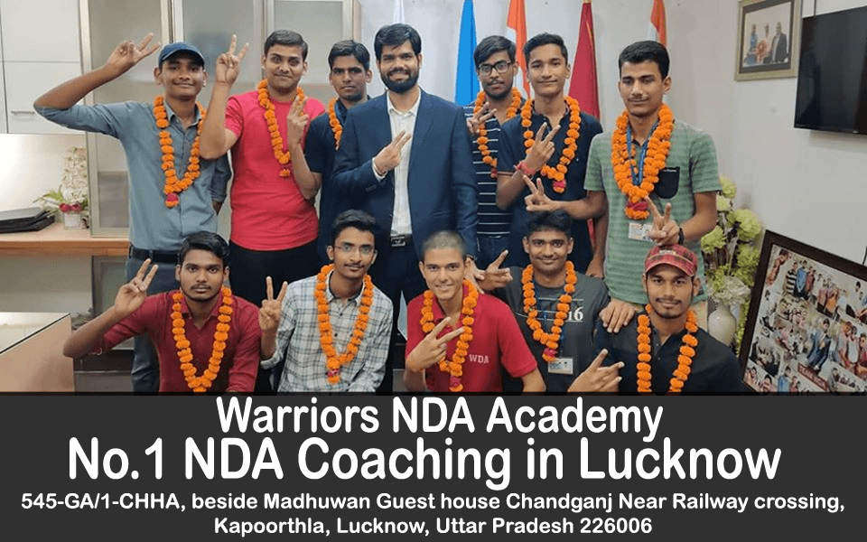 No.1-NDA-Coaching-in-Lucknow | Warriors NDA Coaching