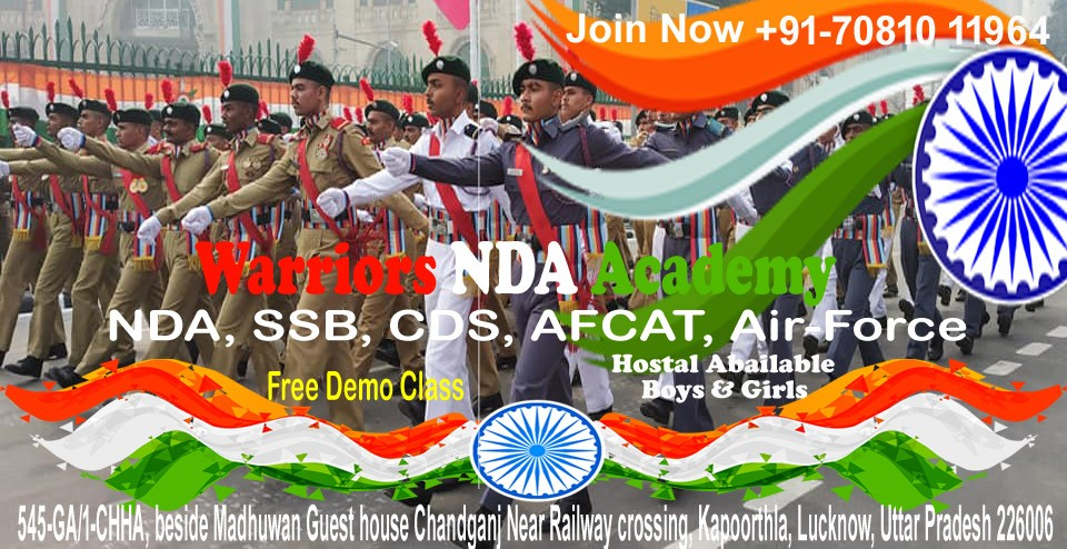 No.1 NDA Coaching in Lucknow | Warriors NDA Coaching